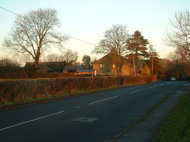 Cumeragh Lane [B5269] near Longridge