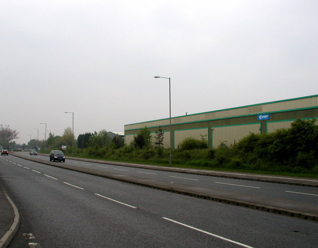 Industrial estate near Normanton