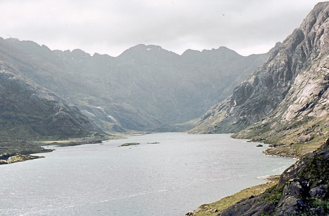 Loch Coruisk from the eastern shore