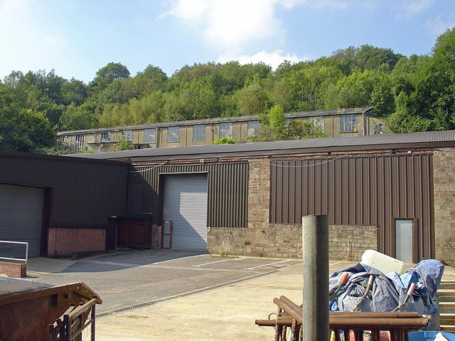 Industrial buildings: The Stenders, Mitcheldean